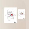 항균탈취 스티커 붙여봄 - 오기사 03 침대