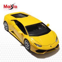 마이스토 1:24 람보르기니 우라칸  자동차장난감 키덜트 Yellow