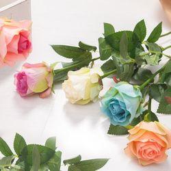 샤이니장미가지 65cm 조화 꽃 장미 인테리어 장식