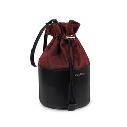 버킷 파우치 Bucket Pouch 버밀리언 와인