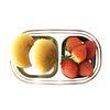 스텐 2구간식 다이어트 유아 아기 어린이 식판