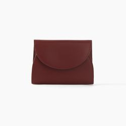 REIMS W022 Cover R Pocket wallet Burgundy