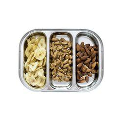 스텐 3구 3절 나눔 어린이집 유아 아기 다이어트 식판