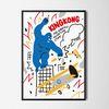 킹콩1 영화 M 유니크 인테리어 디자인 포스터 A3(중형)