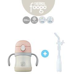 유아용 2way베이비보틀(TKFA-200S)+리필빨대 핑크