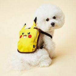 피카츄 강아지 표정 가방 스마일