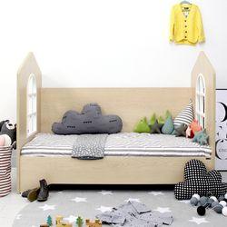 리틀슈에뜨 하우스타입 어린이 침대(알로 매트리스 포함)