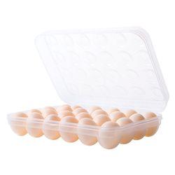 투명 계란 케이스 보관함 15구