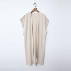 Wool N Cashmere Shawl Long Vest
