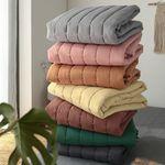 먼지없는 베이직 미끄럼방지 침대 누빔패드(SS패드단품)-8color