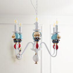 서커스 6등 펜던트(LED전구포함)아이방 키즈 조명