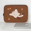 자수포켓 노트북파우치 하늘을 날다람쥐 (15인치)