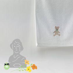 TEDDYBEAR FACE TOWEL 테디베어 페이스 타올