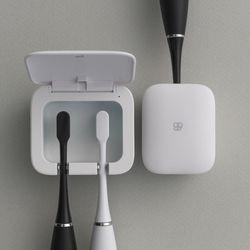 식스비 1인용 무선 칫솔살균기 led 휴대용 소독기