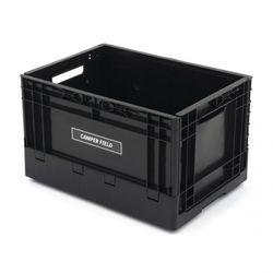 캠퍼필드 오픈도어 캠핑테이블 폴딩박스 블랙