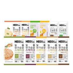 [무료배송] 허닭 닭가슴살 스테이크 11종 10팩 골라담기