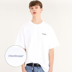 Color Logo Half T-Shirts (white)
