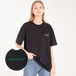 Color Logo Half T-Shirts (black)