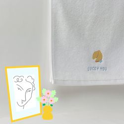 FORTUNE COOKIE FACE TOWEL 포츈 쿠키 페이스 타올
