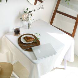 타이니샌드 고주파 레이스 식탁보 2인 130x130cm (4 color)