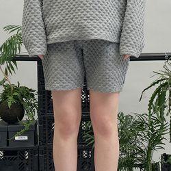dia pattern shorts (gray)
