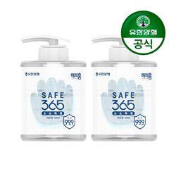 해피홈 SAFE365 겔타입 손소독제 500mL 2개