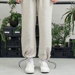 RE braces logo string pants (oatmeal)