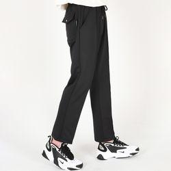 (UNISEX)Cooler Banded Pants(BLACK)