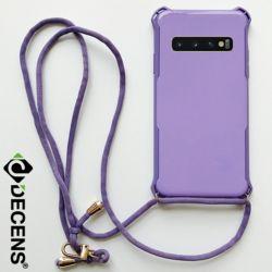 데켄스 M705 갤럭시 파스텔 스트랩 핸드폰 케이스