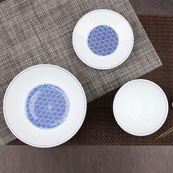 신혼그릇세트 일본수입 그릇 세이카이하세트 3P