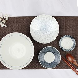 신혼부부 접시 세트 1인 수입 식기 아미메 세트 4P
