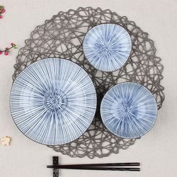 신혼그릇세트 일본 수입 도자기 호소토쿠사 세트 3p