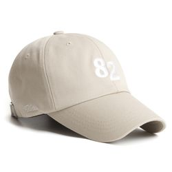 20 NUMBER 82 CAP BEIGE