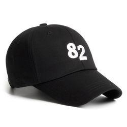 20 NUMBER 82 CAP BLACK