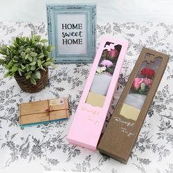 어버이날 스승의날 비누꽃 로즈 카네이션 박스