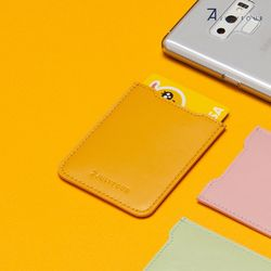 POST CARDWALLET YELLOW