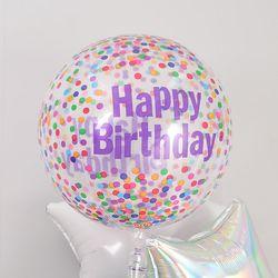 옹브레 40cm 투명 생일컨페티