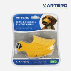 아테로 강아지 실리콘 입마개 L P349