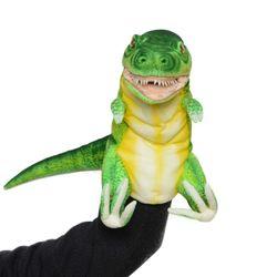 7763-공룡퍼펫(손인형) 티렉스(네오그린) 50cm.L