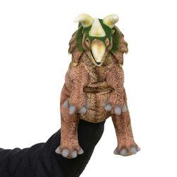 7759-공룡퍼펫(손인형) 트리케라톱스 43cm.L