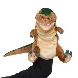 7749-공룡퍼펫(손인형) 티렉스 브라운 50cm.L
