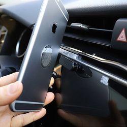 토드 블랙 자석거치대 슬림형 차량용거치대 스마트폰