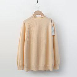 Maille Wool Roll Mini Turtleneck Sweater
