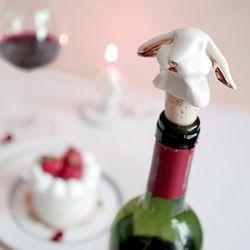 토끼 와인스토퍼 (마개 실리콘)