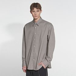 RELAX LIGHT CHECK SHIRT BLACK