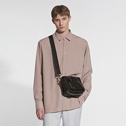 REAL SILKY BASIC SHIRT BEIGE