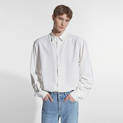 LOOSE FIT MINIMAL SHIRT IVORY