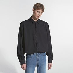 LOOSE FIT MINIMAL SHIRT BLACK