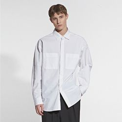 TWO POCKET POINT SHIRT IVORY