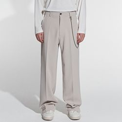 SHADE WIDE LONG SLACKS BEIGE